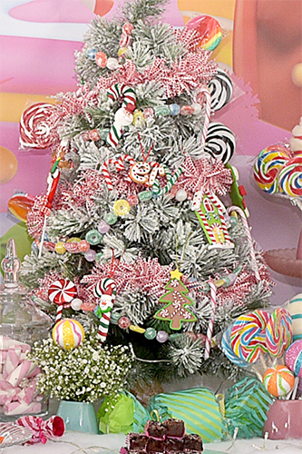 Candyland de Natal Wayfield - Lima Limão Festas