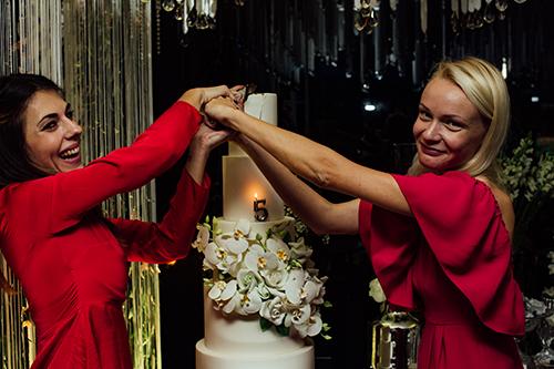 Casamento com muito brilho - Lima Limão Festas