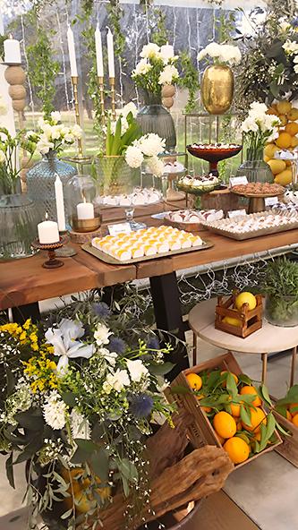Aniversário orgânico com muito verde mas elegante - Lima Limão Festas