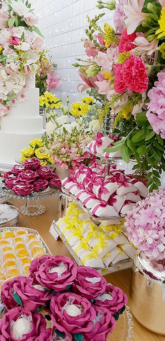 Casamento na praia com cor - Lima Limão Festas
