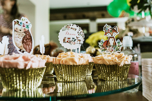Kit Aniversário Personalizado Bosque - Lima Limão Festas