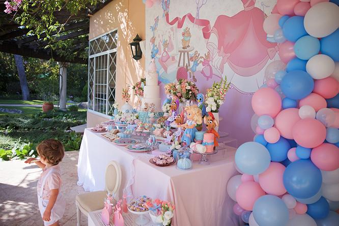 Festa de Gata Borralheira a Cinderela - Lima Limão Festas com Charme