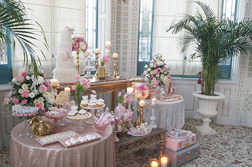 Batizado Sweet Princess - Lima Limão Festas