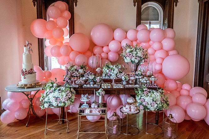 Batizado Sweet Princess Amalia - Lima Limão Festas