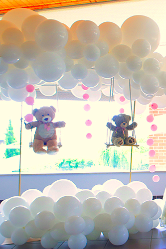Batizado ursinha a baloiçar - Lima Limão festas