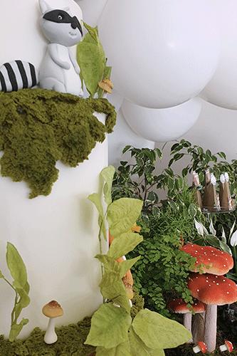Encanto de bosque - Batizado Lima Limão Festas